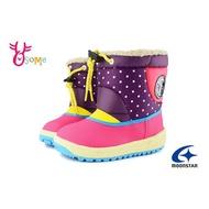 【特價出清中】Moonstar 月星 女童防水雪靴 中童 日本機能童靴 I9610 紫 OSOME奧森鞋業