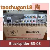Blackspider Digital Karaoke Amplifier System