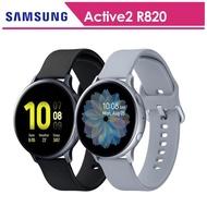 【SAMSUNG 三星】Galaxy Watch Active2 鋁44mm智慧手錶手錶 SM-R820(送原廠錶帶等好禮)