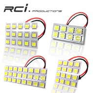 通用型 LED室內燈 車內燈 高亮度 5050 晶片 白光 暖白光