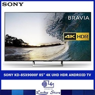"""SONY KD-85X9000F 85"""" 4K UHD HDR ANDROID TV"""