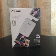 Canon PV-123A-SG迷你相片印表機 全新未拆 公司貨 含10張相片紙 一年保固