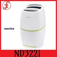 NOVITA DEHUMIDIFIER ND322i DEHUMIDIFIER(22 L)