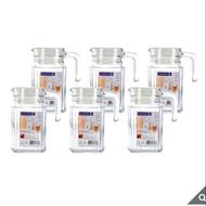 costco 好市多代購 樂美雅 Luminarc 玻璃冷水瓶6件組 500ml、1100ml