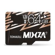 Mixza Cool Edition 64GB U3 Class 10 TF Micro Memory Card for Digital Camera TV Box MP3 Smartphone