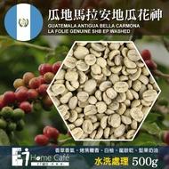 【E7HomeCafe一起烘咖啡】瓜地馬拉安地瓜花神水洗處理咖啡生豆500克