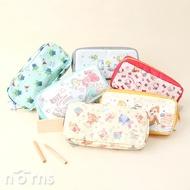 日貨Fancy style尼龍四方筆袋 - Norns 日本正版Snoopy Kitty三眼怪 小美人魚 奇奇蒂蒂 小熊維尼化妝包 鉛筆盒
