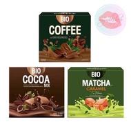 Bio Cocoa mix khunchan ไบโอ โกโก้ มิกซ์- Bio Coffee ไบโอ คอฟฟี่ กาแฟ คุมหิวอิ่มนาน ราคาต่อ 1 กล่อง(10 ซอง)