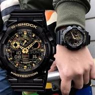 Casio นาฬิกาข้อมือ G-Shock GA-100CF-1A9 (Black)