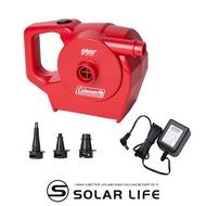 Coleman QUICKPUMP 充電式幫浦/CM-23137 電動充氣泵 睡墊充氣機 充氣馬達 露營打氣筒 充氣抽氣