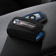 BMW F10 F30麂皮鑰匙套 真皮鑰匙套 Performance 鑰匙包 鑰匙殼 Keyless 麂皮+碳纖維