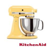 【KitchenAid】桌上型攪拌機(抬頭型)5Q(4.8L)奶油黃