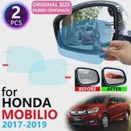 Untuk Mobil Honda Mobilio Tahun 2017 2018 2019 2020 DD4 Penutup Penuh Kaca Spion Anti-Kabut Film Yg Tahan Hujan Film Anti Kabut foil Aksesoris