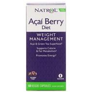 KK Shopaholic   現貨 🔥 Natrol- Açaí Berry Diet 巴西莓與綠茶萃取纖體膠囊