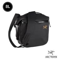 【Arcteryx 始祖鳥】Arro 8L 多功能斜背包(黑)