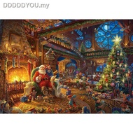 ▦♨✒England import Jigsaw Puzzles gibsons 1000PCS Adult puzzle Santa gives presents1111111