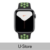 [U Store] Apple Watch Nike Series 5 GPS Alumimium Case with Sport Band Space Grey Aluminium Case with Anthracite/Black Nike Sport Band 40MM