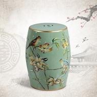 Northern Style New Chinese style dressing stool, make-up stool, ceramic drum stool, drum stool,