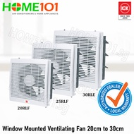 KDK Window Mounted Ventilating Fan 20/25/30cm [20RLF][25RLF][30RLE]
