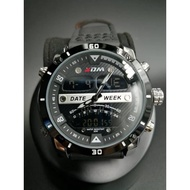 KADEMAN MEN ANALOG/DIGITAL WATCH LEATHER K9066