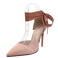 fast selling lazada the new Pointed Toe strap super Pump hollow shallow women s shoes bridesmaids