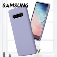 【韓式作風】SAMSUNG S10/S9/NOTE10/NOTE9/A20/A50/A70系列 親膚矽膠防污防摔全包手機殼RCSAM129(七色)