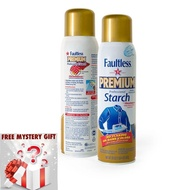 [Shop Malaysia] Faultless Premium Professional Ironing Starch Spray Speed Ironing Fast And Easy On From USA+ Free Mystery Gift🎊