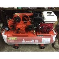 空壓機 全新2HP高壓16KG皮帶式空壓機半自動空壓機附本田(HONDA)5.5HP引擎