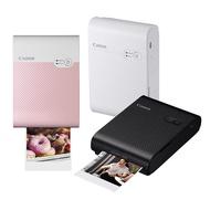 CANON SELPHY SQUARE QX10 輕巧相片印表機 相印機 公司貨 送60張專用相紙黑色