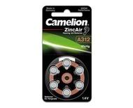 Camelion - 助聽器電池 (6粒咭裝) A312-BP6