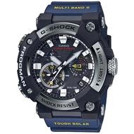 【CASIO 卡西歐】FROGMAN 太陽能智慧藍芽電波蛙人錶(GWF-A1000-1A2)