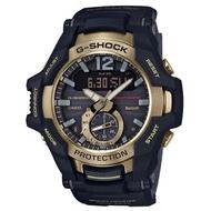【CASIO 卡西歐】G-SHOCK系列 藍芽手錶(GR-B100GB-1A-黑金)