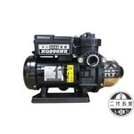 『木川東元泵浦』《2019新款》KQ200NE 塑鋼不生鏽電子式加壓機(塑鋼水機)