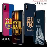 重磅日限時優惠價足球榮耀 v20巴薩手機殼Note10 V10巴塞羅那隊徽10青春版