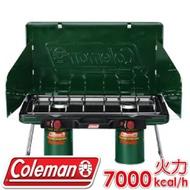【Coleman 美國 6707瓦斯雙口爐 】CM-6707/折疊瓦斯雙口爐/高山瓦斯爐具