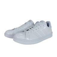 【adidas 愛迪達】Adidas NEO ADVANTAGE 女款全白休閒鞋-NO.EE7494