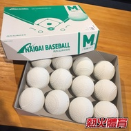 =【熱火體育市政】=NAIGAI 進 軟式 M BALL 16JBR11200