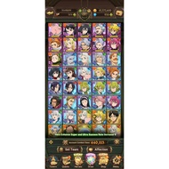 The Seven Deadly Sins: Grand Cross 1500+ Diamond + 90+ SSR Tickets Starter Account + Asia Server +7DS