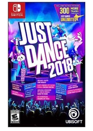 【現貨】Switch NS 舞力全開 2018 英文版 Just Dance 2018 舞力