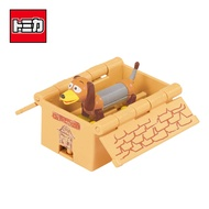 【日本正版】TOMICA 騎乘系列 TS-08 彈簧狗 x 箱子 玩具總動員4 皮克斯 多美小汽車 - 875000