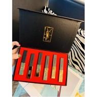 《限時促銷》現貨 免運 聖羅蘭 YSL小金條口紅禮盒六件套 附禮品袋