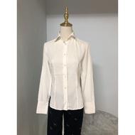 Nara Camicie 辦公室基本款長袖白襯衫
