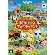 遊戲歐汀 Wii U動物之森 amiibo 慶典 WII主機無法讀取