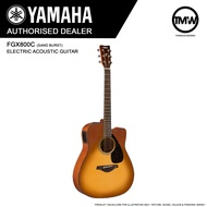 PRE-ORDER (Nov/Dec onwards) Yamaha FGX800C (Sand Burst) Electric Acoustic Guitar  - Absolute Piano - The Music Works Store GA1