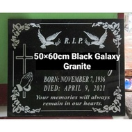 Computerized Lapida 50×60cm Black Galaxy Granite