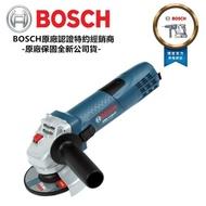 雙11限定【BOSCH 博世】加贈原廠切片*1 德國 BOSCH 可調速 手持式平面砂輪機4英吋GWS 7-100ET 非100k
