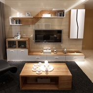 Living room your TV cabinet combination coffee table IKEA TV cabinet wall cabinet wall solid wood pa