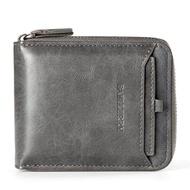 Baellerry lelaki dompet ซิป BEG Retro lelaki Keratan rentas Muda lelaki kad dompet pek dompet dompet