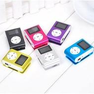 大銀幕 4G大螢幕夾子MP3錄音 收音機 隨身碟  有屏mp3播放器 學生運動隨身聽