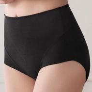 【Lavieaisee 金華歌爾】無痕HIP系列 M-4L 中腰三角褲安定包覆-無痕透氣(黑)